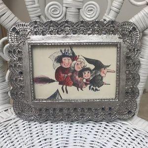 Other - Vintage Art Frame // Witch // Folklore